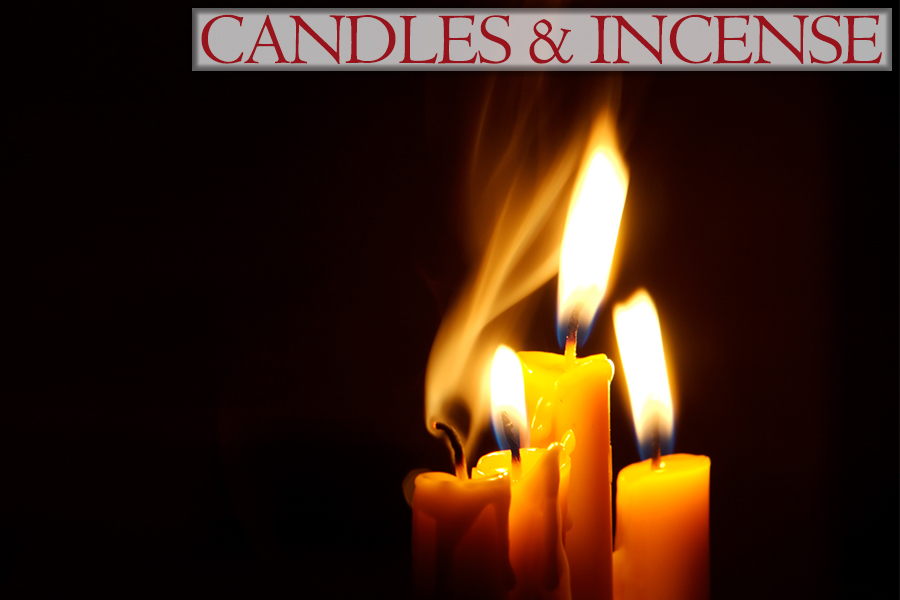 Candles & Incense - The Adult Store